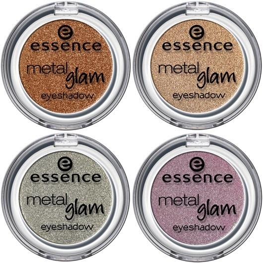 Одиночные тени для век с металлическим финишем Essence Metal Glam Eyeshadow