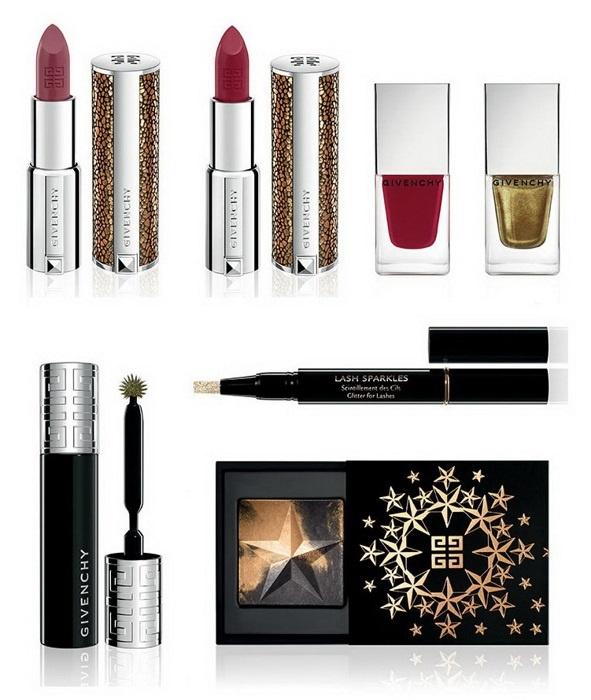 Рождественская коллекция макияжа Givenchy Ondulations Precieuses Holiday 2013 Collection
