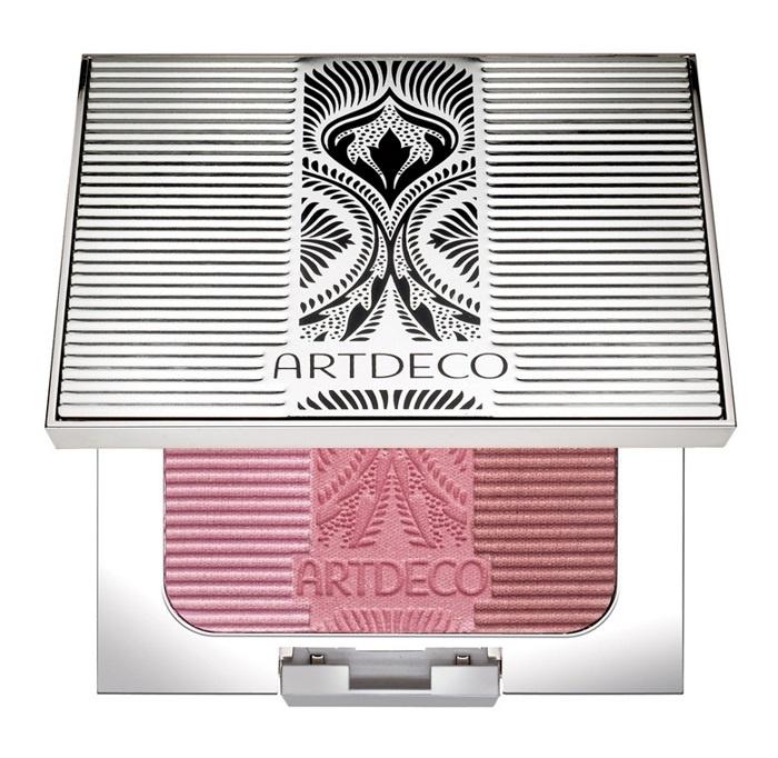 Трехцветные румяна для лица Artdeco Glam Vintage Blusher