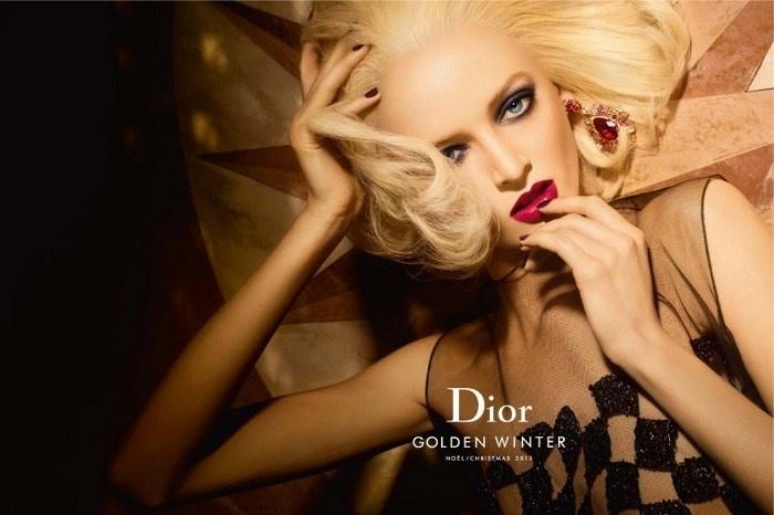 Рождественская коллекция макияжа Dior Golden Winter Holiday 2013 Collection