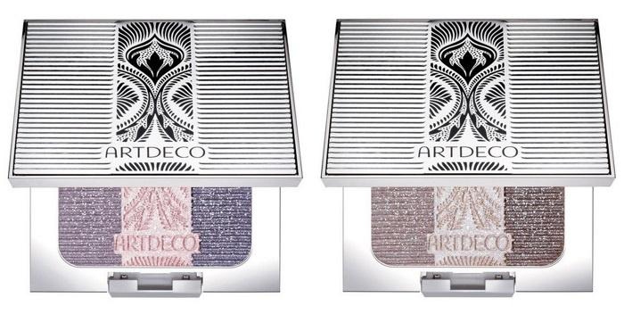 Трехцветный хайлайтер для лица Artdeco Glam Vintage Highlighter