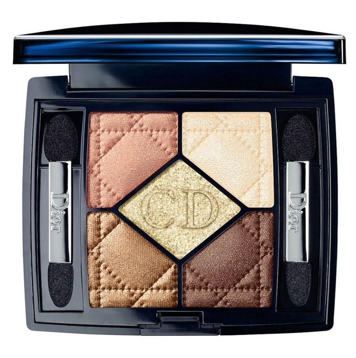 Пятицветные тени для век Dior 5 Couleurs №634 Golden Flower
