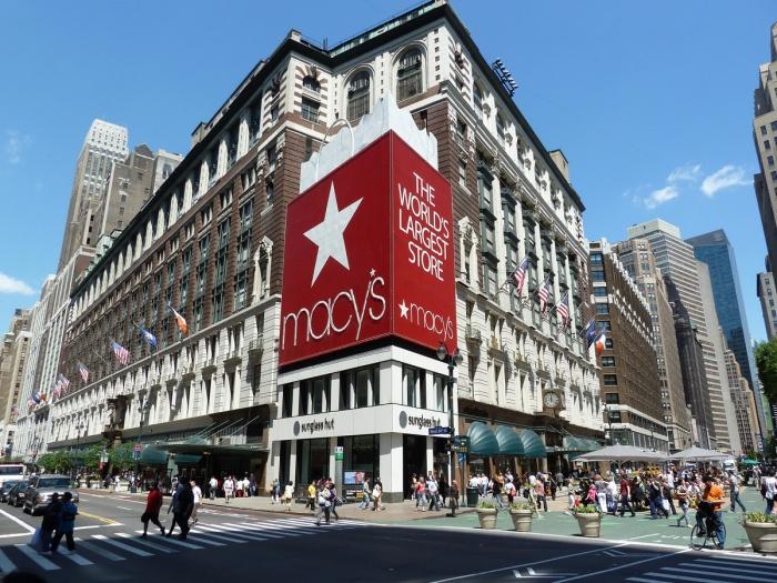 крупнейший в мире универмаг «Мейси» (Macy's)