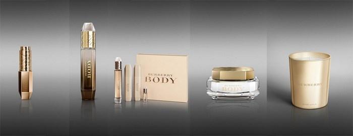 Косметические продукты для тела Burberry Body Collection