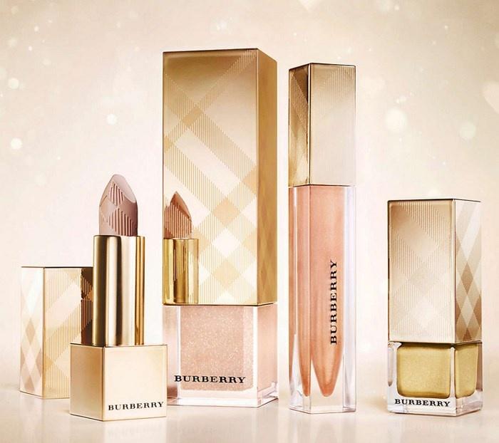 Рождественская коллекция макияжа Burberry Golden Light Holiday 2013 Collection