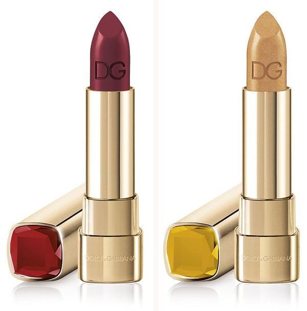 Кремовая губная помада Dolce & Gabbana Sicilian Jewels Classic Cream Lipstick - Rubino Topazio