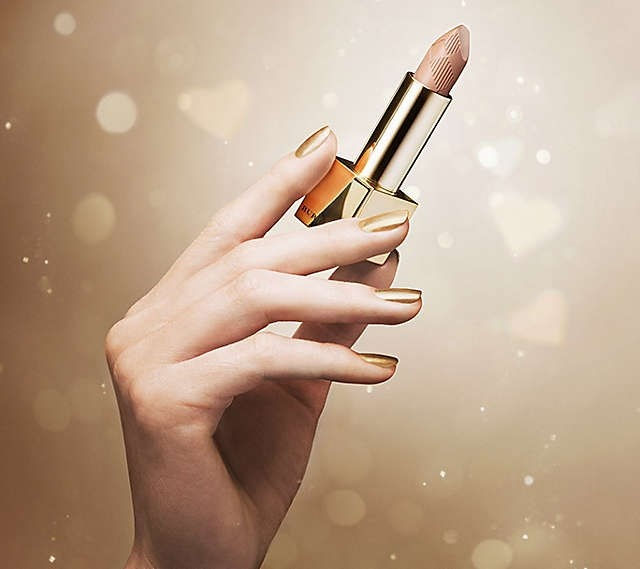 Увлажняющая губная помада Burberry Lip Mist №216 Festive Gold