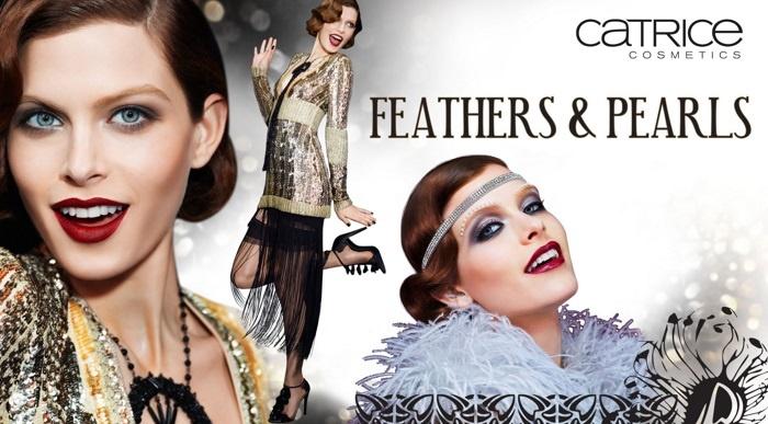 Рождественская коллекция макияжа Catrice Feathers & Pearls Holiday 2013 Collection