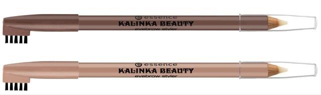 Фиксирующий карандаш для бровей Essence Kalinka Beauty Eyebrow Styler