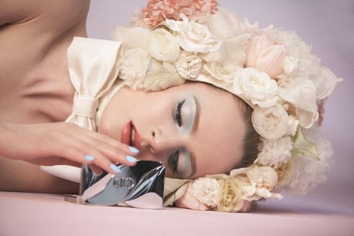 Весенняя коллекция макияжа Dior Trianon Spring 2014 Collection