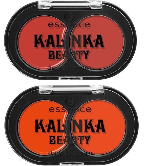 Двойное кремовое средство для губ Essence Kalinka Beauty Duo Lip Creme