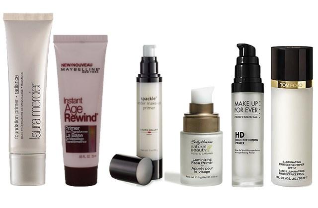 косметические средства, необходимые для создания новогоднего макияжа