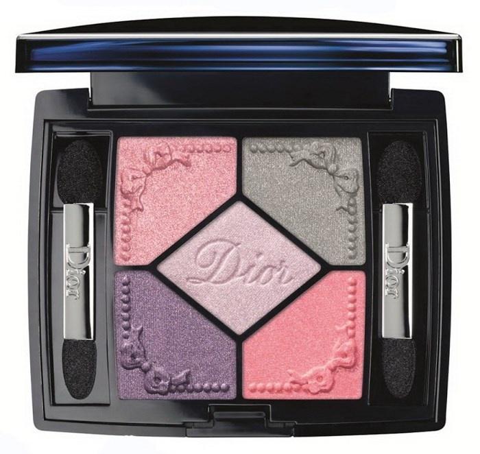 Пятицветная палетка теней для век Dior 5 Couleurs Trianon Eyeshadow Palette №954 Pink Pompadour (лимитированное издание)