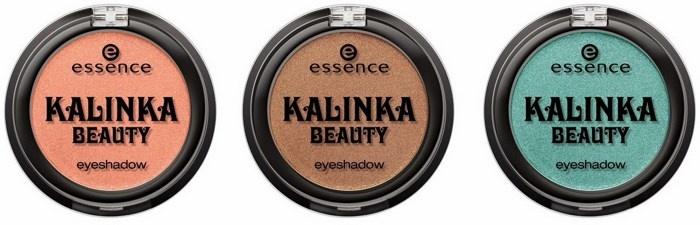 Одиночные тени для век Essence Kalinka Beauty Mono Eyeshadow