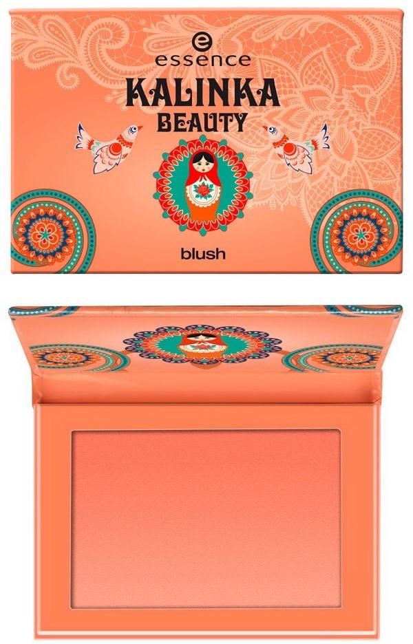 Пудровые румяна для лица Essence Kalinka Beauty Blush
