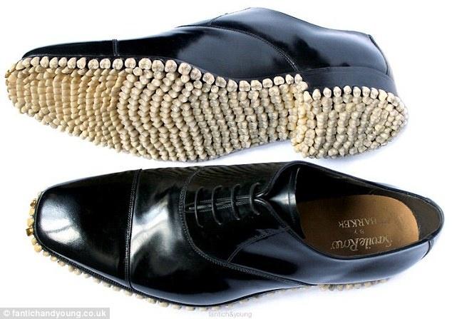 Зубастые ботинки