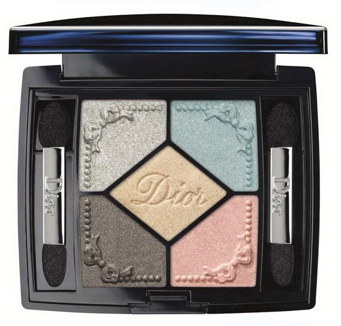 Пятицветная палетка теней для век Dior 5 Couleurs Trianon Eyeshadow Palette №234 Pastel Fontagnes (лимитированное издание)