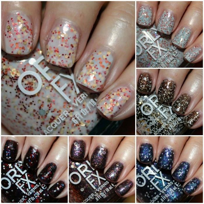 Весенняя коллекция лаков для ногтей Orly Galaxy FX Spring 2014 Collection оттенки
