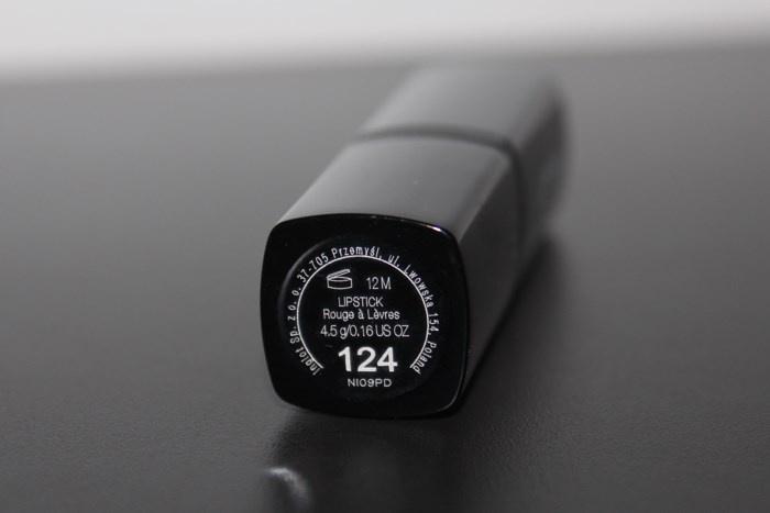 Губная помада Inglot Lipstick №124