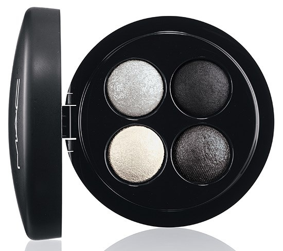 четырехцветные тени для век MAC Mineralize Eyeshadow Quads - A Waft of Grey
