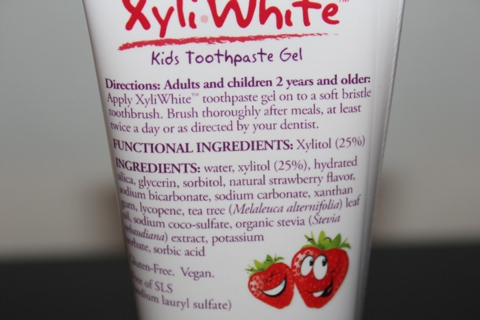 Детская зубная паста Now Foods, XyliWhite Kids Toothpaste Gel, Fluoride-Free, Strawberry Splash, (85 г)