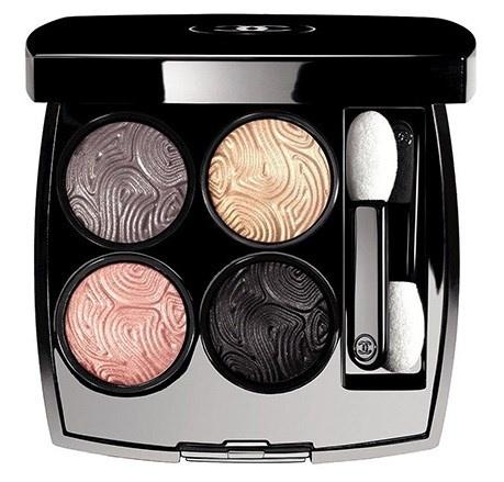 Четырехцветные тени для век Chanel Ombres Tracées Quadra Eyeshadow Jardin Zen (лимитированный выпуск)