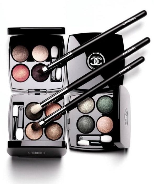 Весенняя коллекция четырехцветных теней для век Chanel Les 4 Ombres Spring 2014 Collection