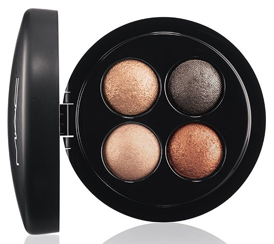 четырехцветные тени для век MAC Mineralize Eyeshadow Quads - A Glimmer of Gold