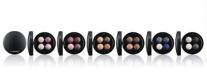 Весенняя коллекция четырехцветных теней для век MAC Mineralize Eyeshadow Quads Spring 2014 Collection