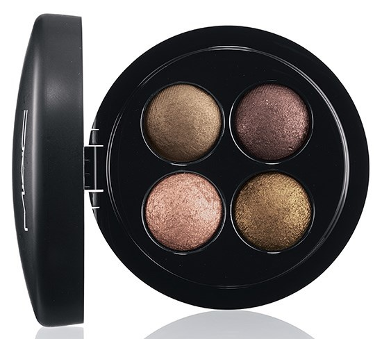 четырехцветные тени для век MAC Mineralize Eyeshadow Quads - A Harvest of Greens