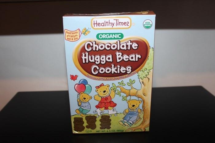 Органическое шоколадное печенье Healthy Times, Organic Hugga Bear Cookies, Chocolate (182 г)
