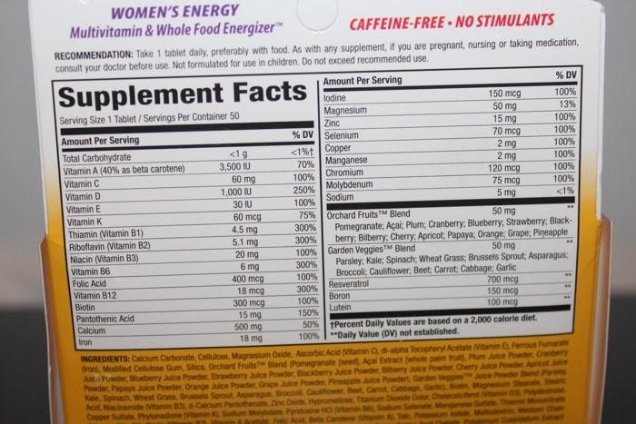 Мультивитамины для женщин Nature's Way, Alive!, Women's Energy, Multivitamin, Multimineral (50 таблеток)