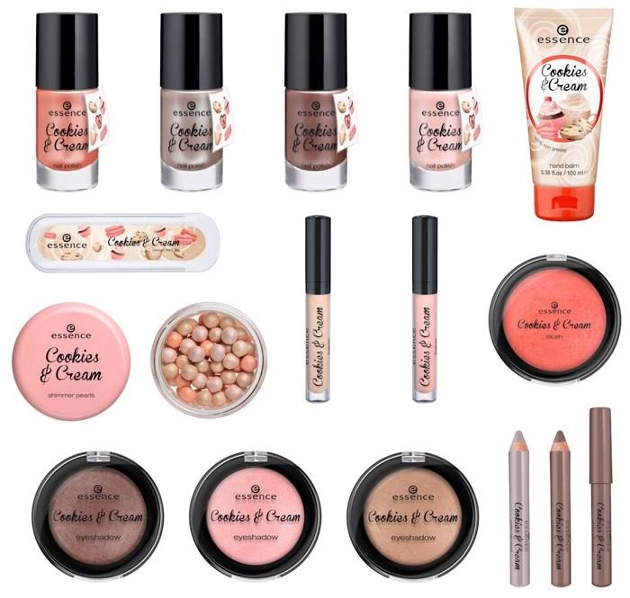 Весенняя коллекция макияжа Essence Cookies & Cream Spring 2014 Collection