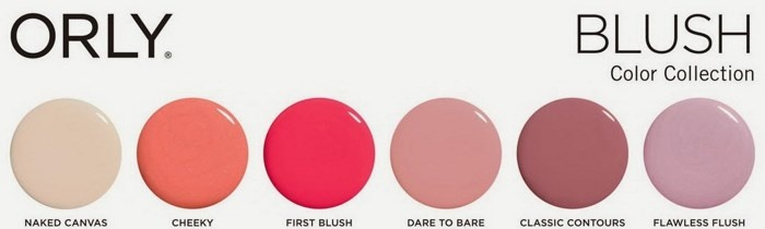 Весенняя коллекция лаков для ногтей Orly Blush Spring 2014 Collection