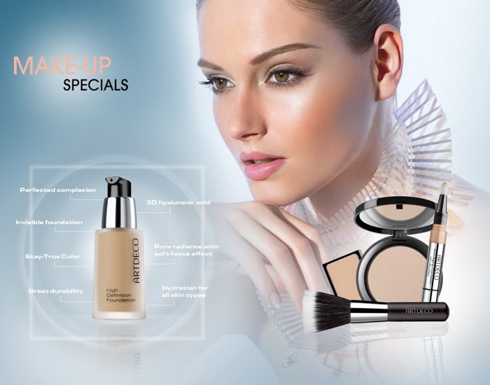 Весенняя коллекция макияжа Artdeco Make-Up Specials Spring 2014 Collection