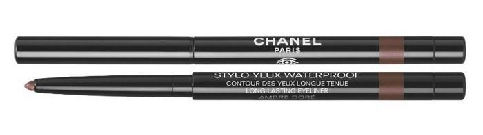 Водостойкий лайнер для глаз Chanel Stylo Yeux Waterproof №911 Ambre Doré