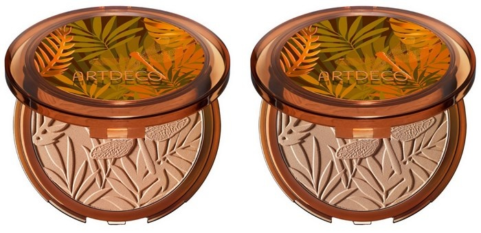 Компактная пудра-бронзер ARTDECO Jungle Fever Bronzing Powder Compact SPF 15