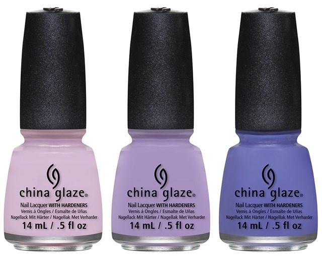 оттенки лаков для ногтей China Glaze City Flourish Spring 2014 Collection