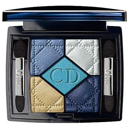 Пятицветная палетка теней для век Dior Voyage 5 Couleur Eyeshadow Palette