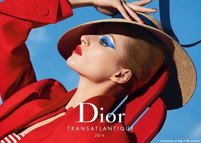 Весенняя коллекция макияжа Dior Transatlantique Spring 2014 Collection