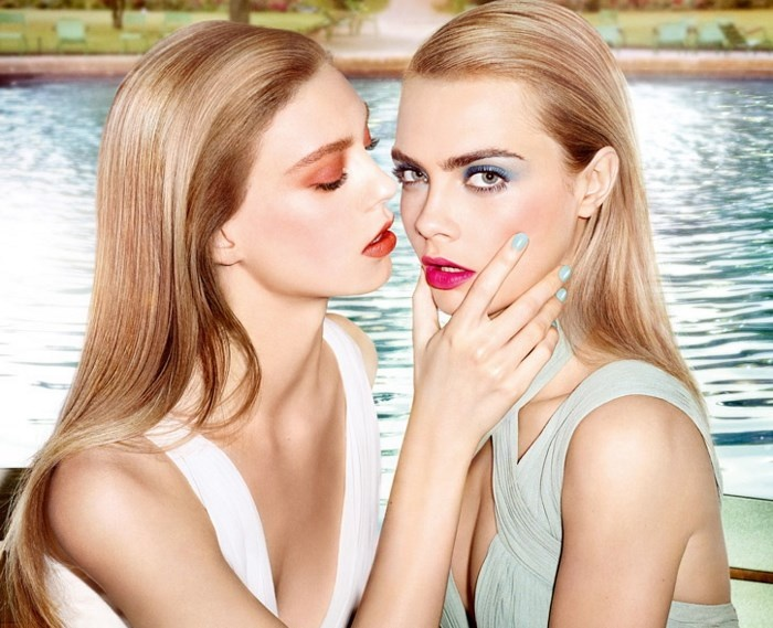 Летняя коллекция макияжа YSL Bleus Lumiere Summer 2014 Makeup Collection