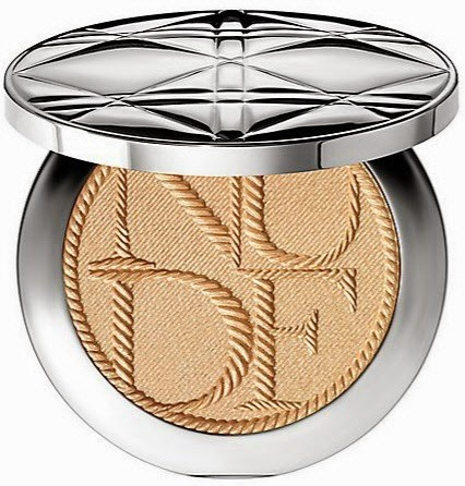 Бронзирующая пудра-шиммер Dior Nude Tan Golden Shimmer Powder Transatlantique