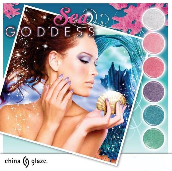 Весенняя коллекция лаков для ногтей China Glaze Sea Goddess Spring 2014 Collection