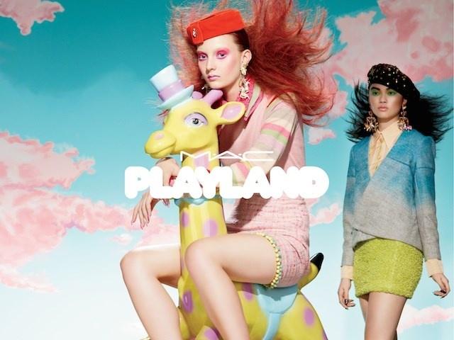 Летняя коллекция макияжа MAC Playland Summer 2014 Collection