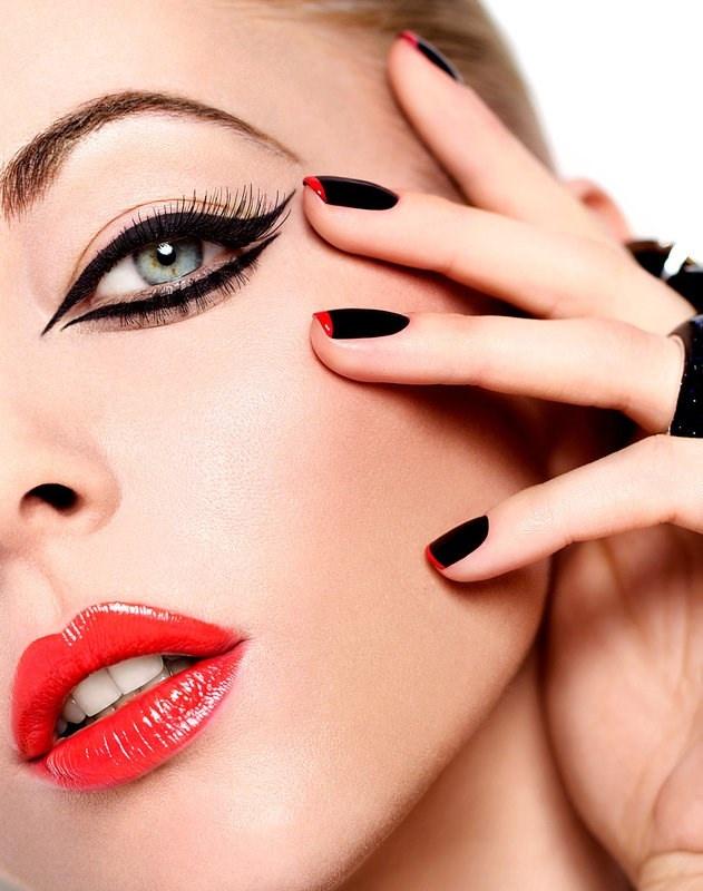 Модный макияж весна-лето 2014. Фото