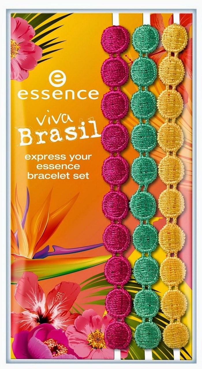 Набор плетеных браслетов Essence Express Your Essence Bracelet Set