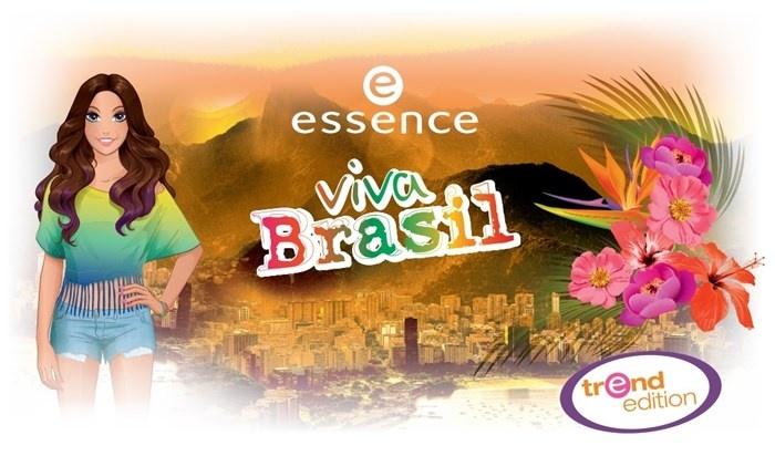 Летняя коллекция макияжа Essence Viva Brasil Summer 2014 Collection