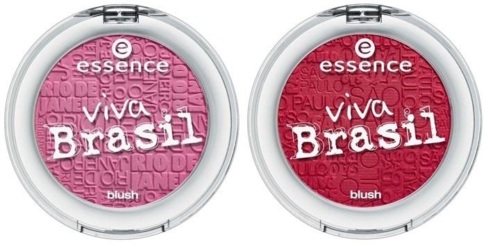 Шелковистые румяна для лица Essence Viva Brasil Blush