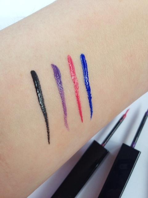 Летняя коллекция макияжа Dior Addict IT Summer 2014 Collection свотчи