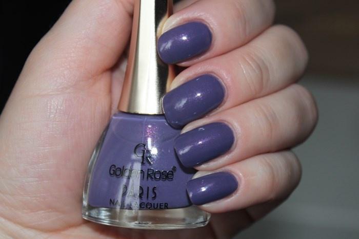 Свотчи лака для ногтей Golden Rose Paris №142 вывод